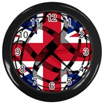 United Kingdom Wall Clock (Black)