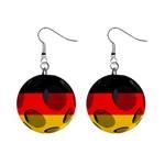 Germany 1  Button Earrings