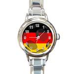 Germany Round Italian Charm Watch