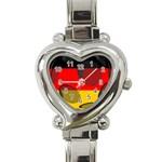 Germany Heart Italian Charm Watch