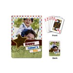 happy fathers day - Playing Cards (Mini)