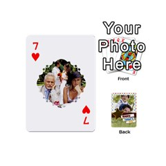Happy Fathers Day By Joely   Playing Cards 54 (mini)   N6aaw56exh0x   Www Artscow Com Front - Heart7