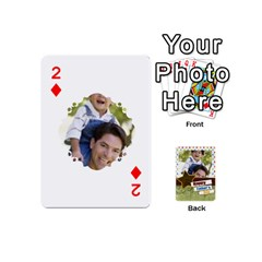 Happy Fathers Day By Joely   Playing Cards 54 (mini)   N6aaw56exh0x   Www Artscow Com Front - Diamond2