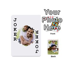Happy Fathers Day By Joely   Playing Cards 54 (mini)   N6aaw56exh0x   Www Artscow Com Front - Joker1