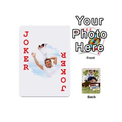 Happy Fathers Day By Joely   Playing Cards 54 (mini)   N6aaw56exh0x   Www Artscow Com Front - Joker2