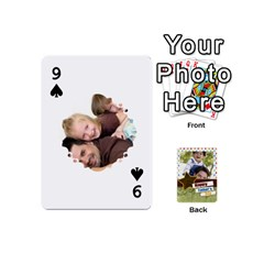 Happy Fathers Day By Joely   Playing Cards 54 (mini)   N6aaw56exh0x   Www Artscow Com Front - Spade9