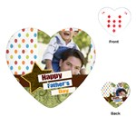 happy fathers day - Playing Cards (Heart)