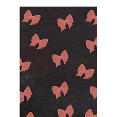 Monogram Journal   Pink & Black Polka Dot And Bows By Lmrt   5 5  X 8 5  Notebook   0mhpgjp6hvg5   Www Artscow Com Back Cover Inside