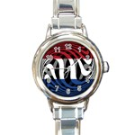Netherlands Round Italian Charm Watch