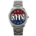 Netherlands Sport Metal Watch