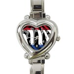 Netherlands Heart Italian Charm Watch