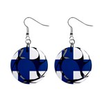 Finland 1  Button Earrings
