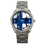 Finland Sport Metal Watch