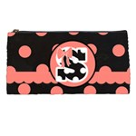 Pink Polka Dot Pencil Case
