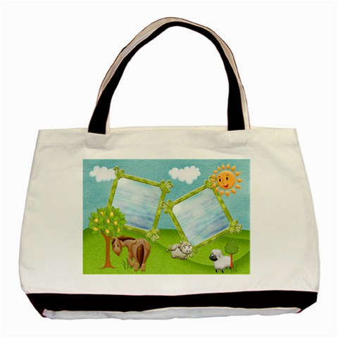 Little Heaven Classic Tote Bag1 By Snackpackgu   Basic Tote Bag   16dv5osjo3dq   Www Artscow Com Front