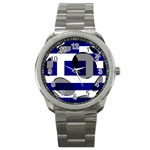 Greece Sport Metal Watch