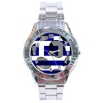 Greece Stainless Steel Analogue Men's Watch