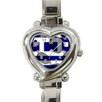 Greece Heart Italian Charm Watch