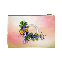 Spring Cosmetic Bag (l) By Elena Petrova   Cosmetic Bag (large)   Uyeoqef6r4vs   Www Artscow Com Back