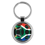 South Africa Key Chain (Round)