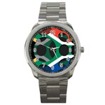South Africa Sport Metal Watch