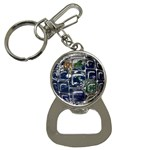 Earth Bottle Opener Key Chain