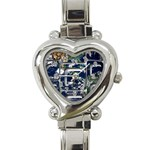 Earth Heart Italian Charm Watch