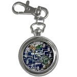 Earth Key Chain Watch