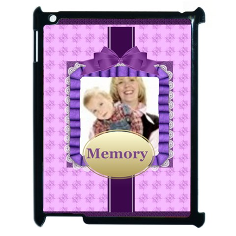 Memory By Joely   Apple Ipad 2 Case (black)   Ujeirio8lqrw   Www Artscow Com Front