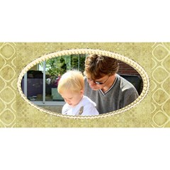 For Dad 3d Card By Deborah   #1 Dad 3d Greeting Card (8x4)   Il1jza7nvpbn   Www Artscow Com Front
