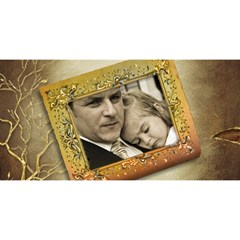 My #1 Dad 3d Card By Deborah   #1 Dad 3d Greeting Card (8x4)   70nxb2jmj3si   Www Artscow Com Front