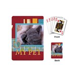 my pet - Playing Cards (Mini)