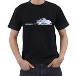 Classic VW BuGs Men s T-Shirt (Black) (Two Sided)
