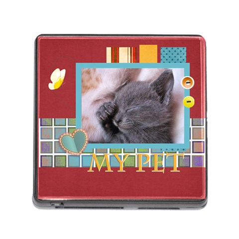 My Pets By Joely   Memory Card Reader (square 5 Slot)   2vulyisbojfa   Www Artscow Com Front