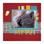 my pets - Medium Glasses Cloth (2 Sides)
