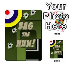 Bag The Hun Card   Allies By Agentbalzac   Multi Purpose Cards (rectangle)   Rqjlm9rjvsra   Www Artscow Com Back 9
