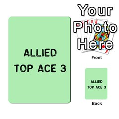 Bag The Hun Card   Allies By Agentbalzac   Multi Purpose Cards (rectangle)   Rqjlm9rjvsra   Www Artscow Com Front 16