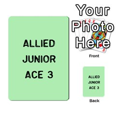 Bag The Hun Card   Allies By Agentbalzac   Multi Purpose Cards (rectangle)   Rqjlm9rjvsra   Www Artscow Com Front 21