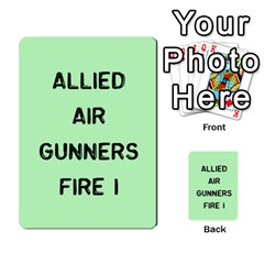 Bag The Hun Card   Allies By Agentbalzac   Multi Purpose Cards (rectangle)   Rqjlm9rjvsra   Www Artscow Com Front 24