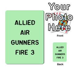 Bag The Hun Card   Allies By Agentbalzac   Multi Purpose Cards (rectangle)   Rqjlm9rjvsra   Www Artscow Com Front 26