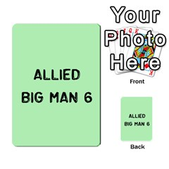 Bag The Hun Card   Allies By Agentbalzac   Multi Purpose Cards (rectangle)   Rqjlm9rjvsra   Www Artscow Com Front 45
