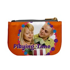 Playing Time By May   Mini Coin Purse   V0yh9i0nvope   Www Artscow Com Back