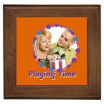 playing time - Framed Tile