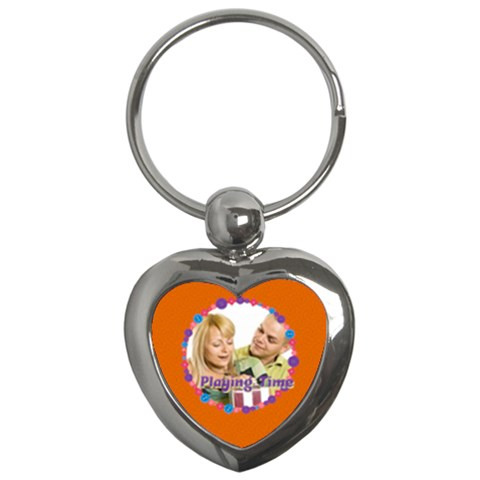 Playing Time By May   Key Chain (heart)   2tb6wuej24bv   Www Artscow Com Front