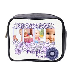 Purple By Joely   Mini Toiletries Bag (two Sides)   Gxcjtu2sjzpn   Www Artscow Com Front