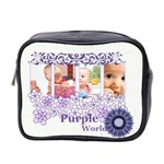 purple - Mini Toiletries Bag (Two Sides)
