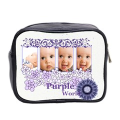 Purple By Joely   Mini Toiletries Bag (two Sides)   Gxcjtu2sjzpn   Www Artscow Com Back