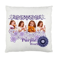 Purple By Joely   Standard Cushion Case (two Sides)   Mg23r6198r77   Www Artscow Com Back