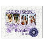 purple - Jigsaw Puzzle (Rectangular)