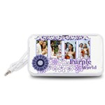 purple - Portable Speaker (White)